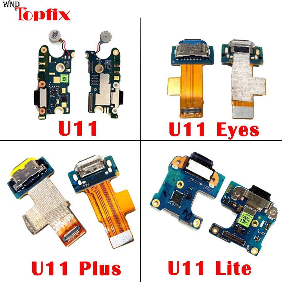 For HTC U11 U12 Plus USB Charging Port Flex Cable For HTC U11 Life/Eyes Charger Port Dock Plug Connector Board Replacement Parts