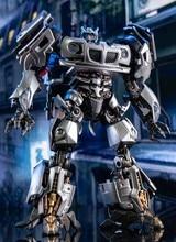 Nova transformação aoyi LS-18 ls18 jazz mpm09 MPM-09 carro de corrida robô figura ação brinquedos