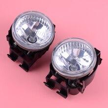 DWCX 1 Pair 2 Pin Left Right Front Bumper Fog Light Lamp 84501AG140 84501AG150 Fit For Subaru Impreza WRX STI Legacy