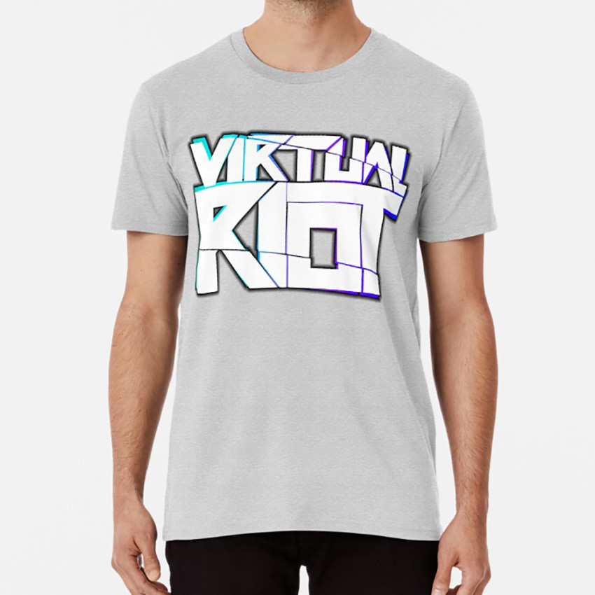 Virtual Riot Merch <font><b>T</b></font> <font><b>Shirt</b></font> Virtual Riot Virtual Riot Dubstep Edm Dance Music <font><b>Skrillex</b></font> image