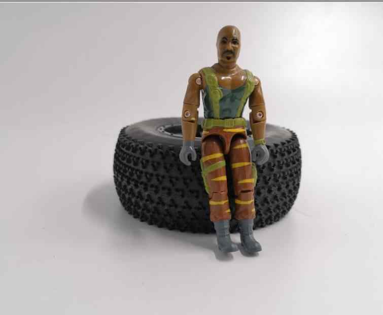 "GIJOE 3.75 ""POP Driver Boot/Auto Voor 1/14 RC Trailer Tractor hobby leisu RC4DW TF2 MAN BENZ ACTEURS 1/10 SCX10 D90 D110 TRX4"