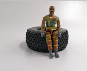 """GIJOE 3.75"""" DOLL Driver Boat/Car For 1/14 RC Trailer Tractor hobby leisu RC4DW TF2 MAN BENZ ACTORS 1/10 SCX10 D90 D110 TRX4(China)"""
