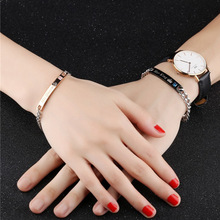 New fashion couple bracelet jewelry rose gold mens and womens bracelets gifts