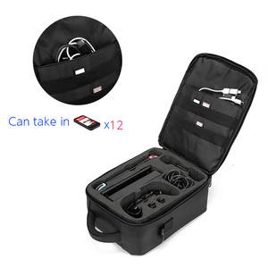 Image 2 - Mallette de transport pour interrupteur, mallette de voyage dure mais légère de protection pour 12 cartouches de jeu, Joy Con autres accessoires