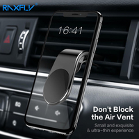 Magnetic Air Vent Mount Car phone Holder for iPhone Raxfly Magnet Phone Car Holder stand for Huawei Xiaomi Holder telefon tutucu