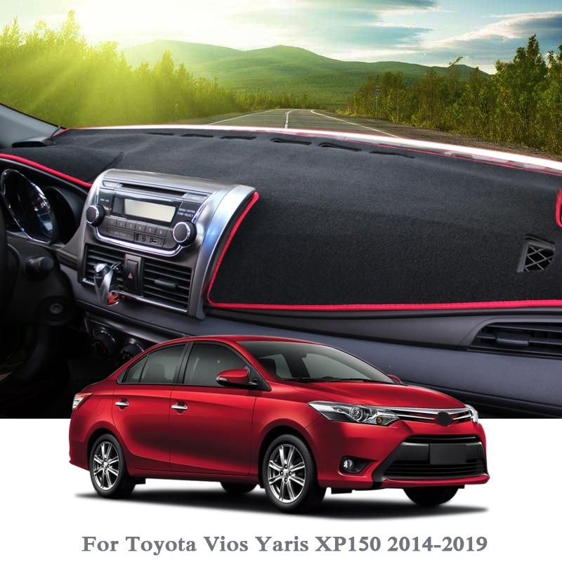 Oneuda Flannel Dashmat Dashboard Cover Dash Pad Car Mat Carpet Sun Shade for/Toyota RAV4 2013 2014 2015 2016 2017 2018 RAV 4 Anti-Slip Dash Board Cover Auto Accessories