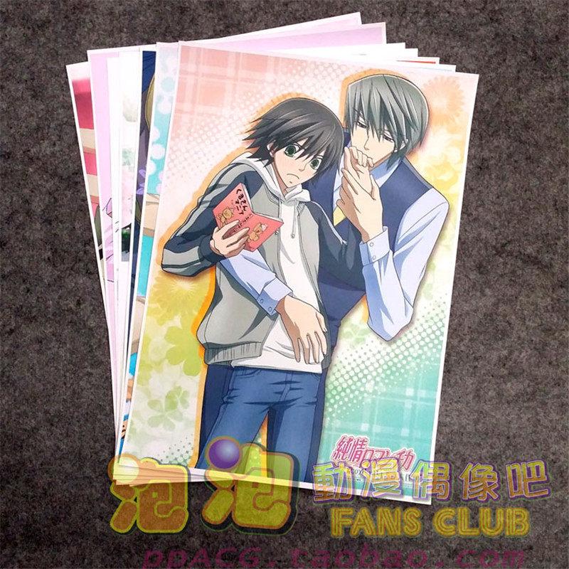 Junjou Romantica Yaoi BL manga Anime two sided Pillow Case Cover 258