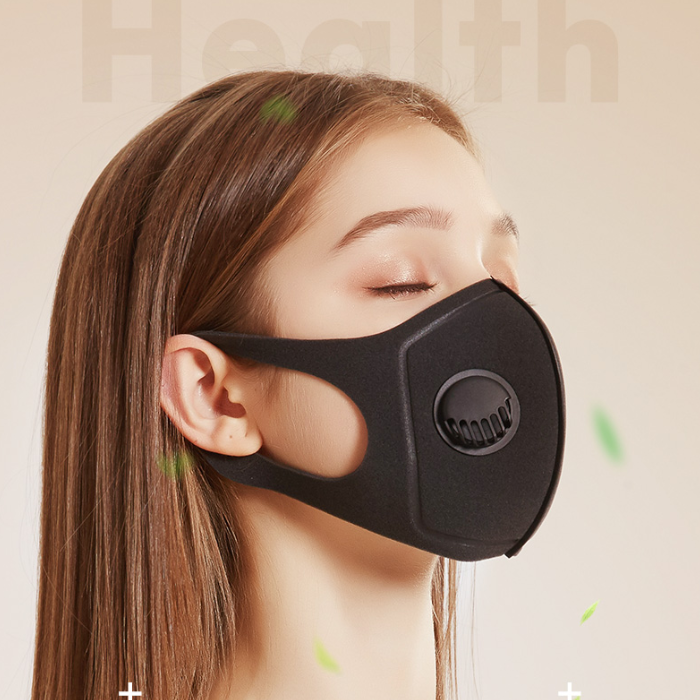 Unisex Washable Anti Haze Anti-dust Mask Breathable Polyurethane Mask