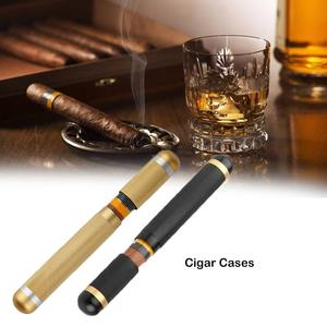 Travel Cigars Box Cigarettes Case Mini Humidor Moisture Storage Tube Single Cigar Tube Smoking Set Accessories 2 Mm Inner Diame