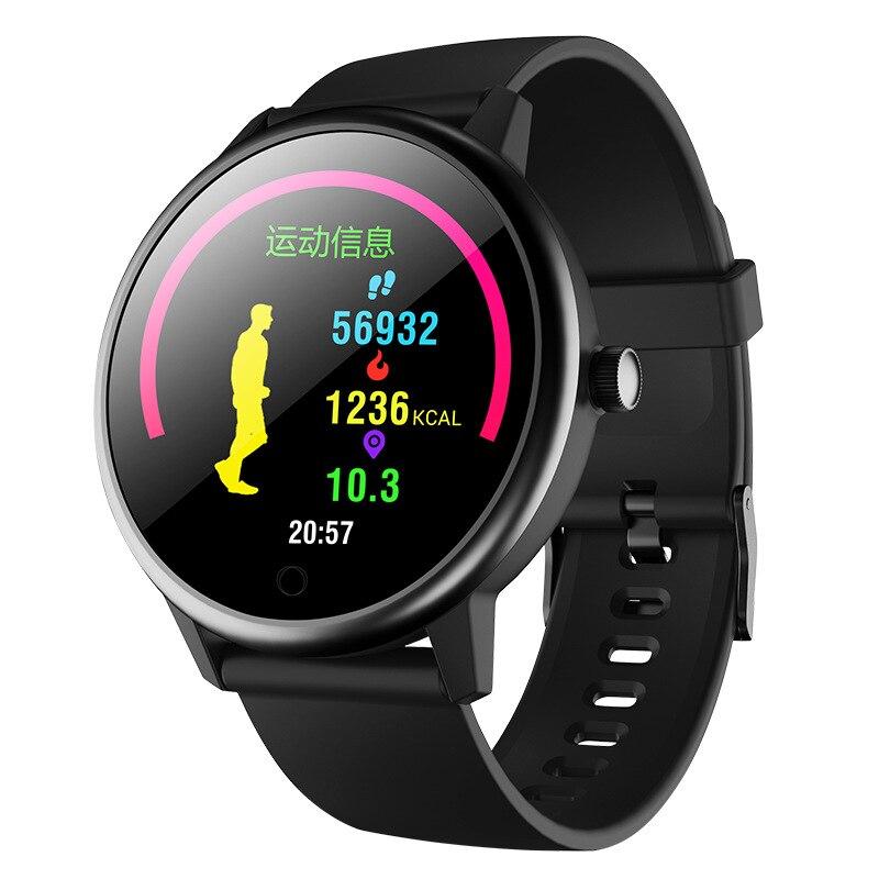 Sport montre intelligente Bracelet 2019 décontracté nouveau cercle écran personnalisé papier peint fréquence cardiaque sommeil surveillance Bracelet en cours d'exécution