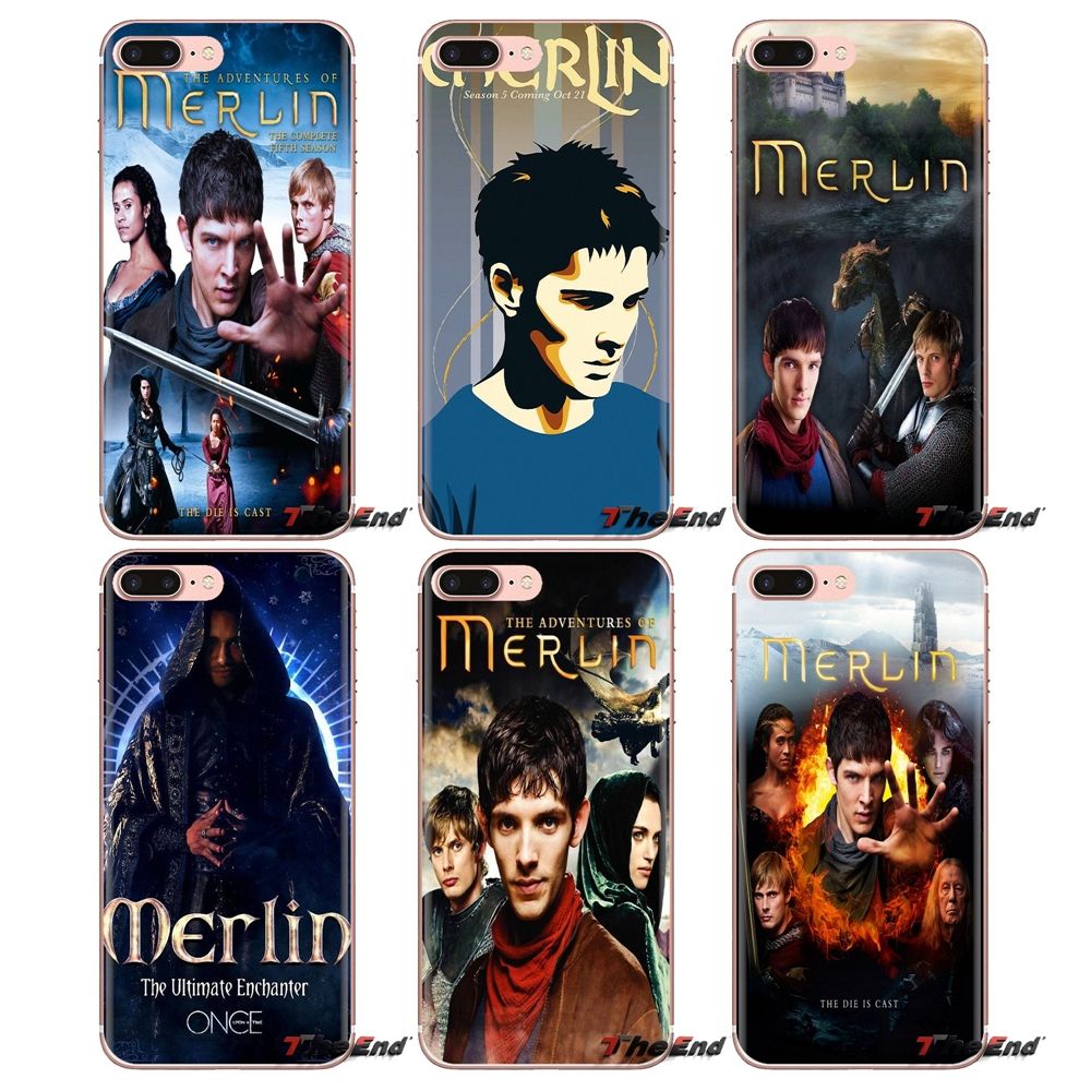 Merlin Series 5 TV Show Poster Soft Transparent Cases Cover