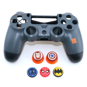 Image 2 - YuXi 1pc Silicone Analog Joystick Stick Grips Cover for PlayStation 4 PS4 Pro Slim PS3 Controller Sticks Caps for Xbox One 360