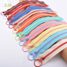 Resin Zipper Ring-Head Sewing Handmade-Accessories Crafts Gartments 10-Pieces Close-End