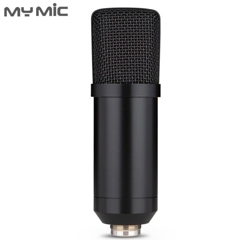 My Mic BM650U Condenser Recording USB Microphone Studio For Computer Gaming Broadcasting