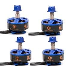4 pçs/lote Flash hobby Samguk série Wei wei motor brushless motor 2207 2300KV/2600KV 3 4s para multirotor Quadcopter FPV