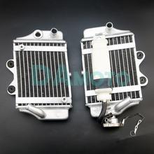 Блок радиатора двигателя охлаждения с водяным охлаждением мотоцикла с вентилятором для двигателя Apollo Zongshen Loncin Lifan 150cc 200cc 250cc