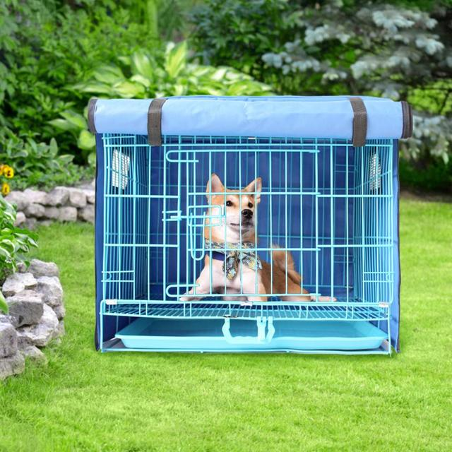 Dog Kennel With Cover  2