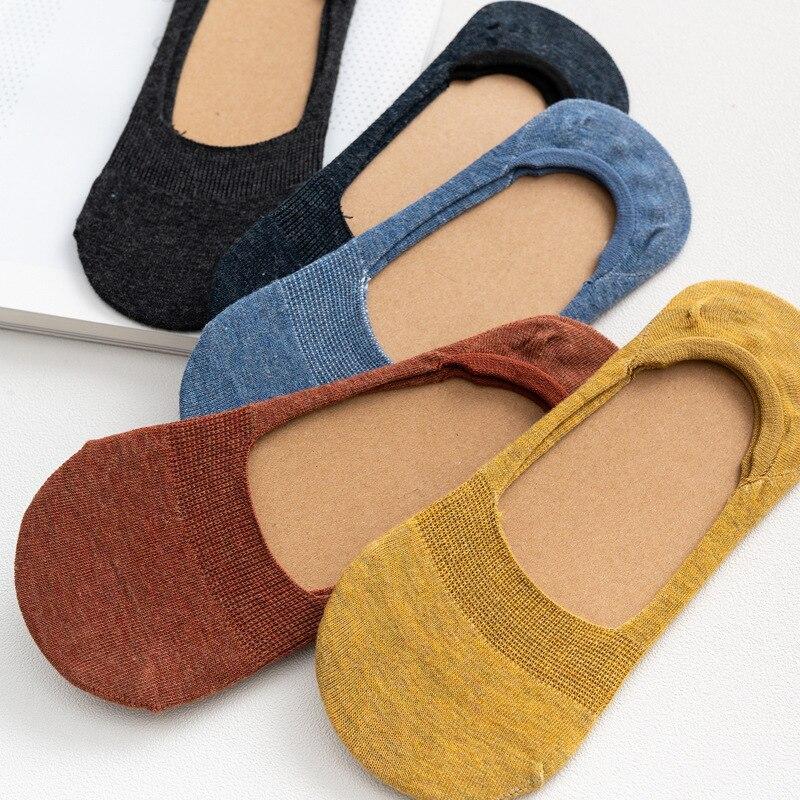 Hot DealsShort Socks Ankle Non-Slip Invisible No-Show Cotton Summer Fashion Women's 5-Pairs 10pieces