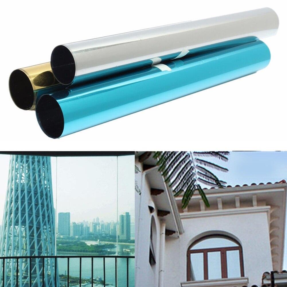 Window-Film Reflection-Decorative Heat-Privacy-Control Solar-Tint One-Way-Mirror New