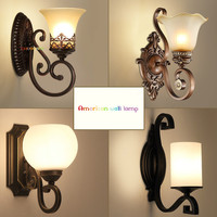 European artistic vintage wall lamp for living room home lighting glass led Wall Sconce decoration|LED Indoor Wall Lamps| |  -