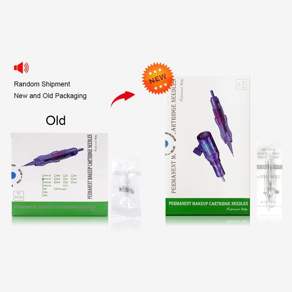 Biomaser Tattoo-Needles Catridges Permanent Makeup Revolution 3RL 5RL 7RL 1R 100PCS