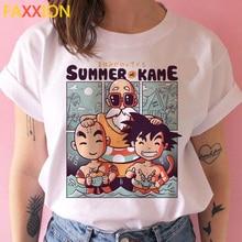 Dragon Ball Z super t shirt women Dragon Ball son goku DBZ vegeta hip hop tshirt funny cartoon japanese Saiyan t-shirt female