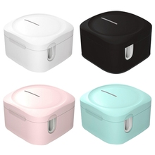 Toothbrush-Holder Disinfection-Box LED Sterilizings Plug-In And Portable Wall-Mounted