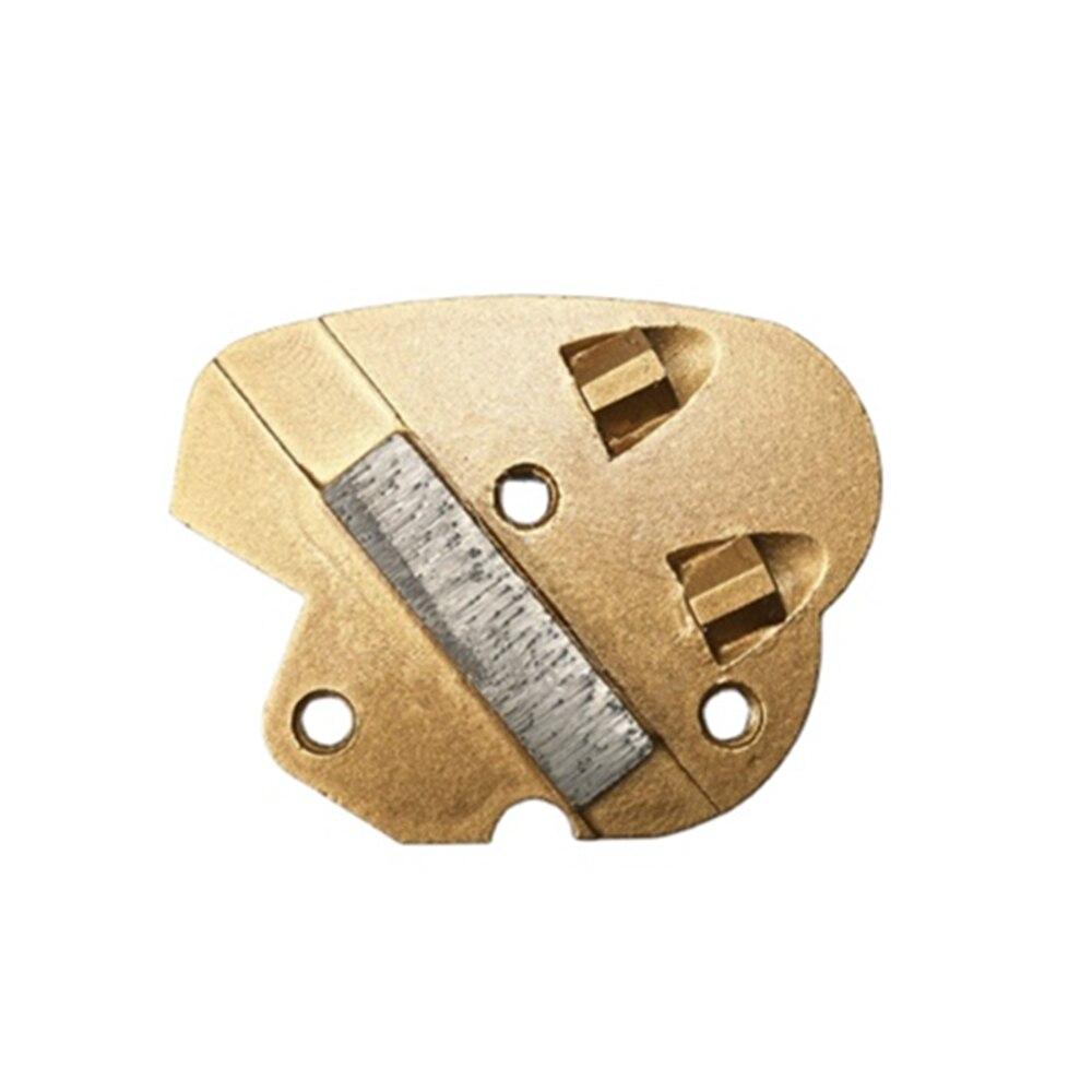 CT19 Airtec алмазные PCD шлифовальные пластины с двумя задними четвертями PCD напольные диски с одним стержнем PCD шлифовальные колодки для Airtec сери...