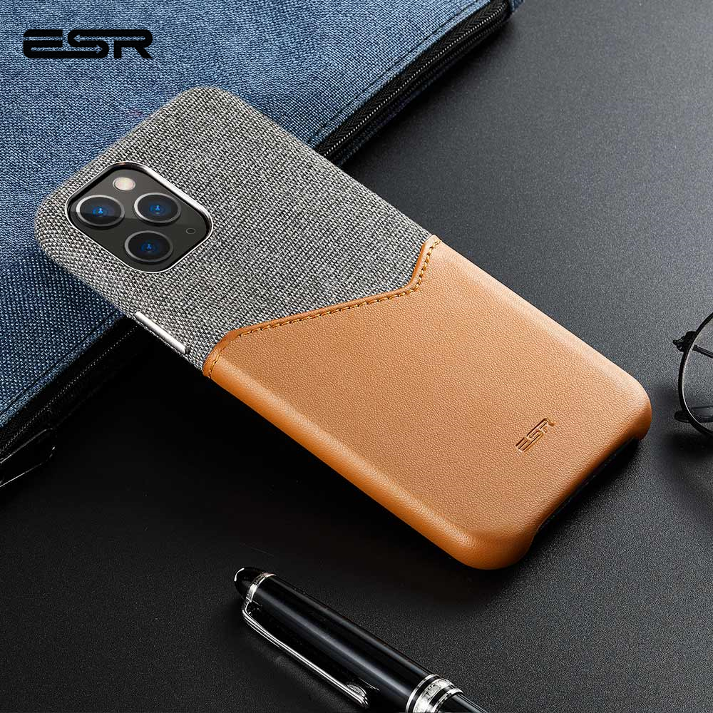 ESR Case for iPhone 11 Pro XR XS Max Cover Brand Luxury Leather Card Slot Shockproof ESR Case for iPhone 11 Pro XR XS Max Cover Brand Luxury Leather Card Slot Shockproof Business Wallet Case for iPhone 2019 iphon