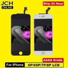 """AAAA + + + + dla iPhone 6 6S Plus wyświetlacz LCD Digitizer montaż z ekranem dotykowym 3D wymiana Pantalla dla iPhone 7 8 Plus 5.5"""""""