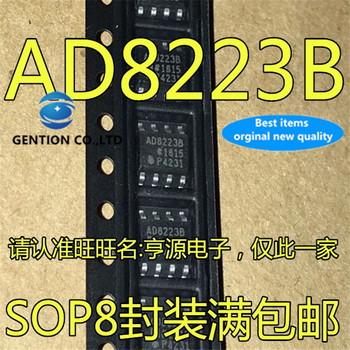 5Pcs AD8223BR AD8223BRZ AD8223 AD8223B SOP-8 Instrument amplifier   in stock  100% new and original