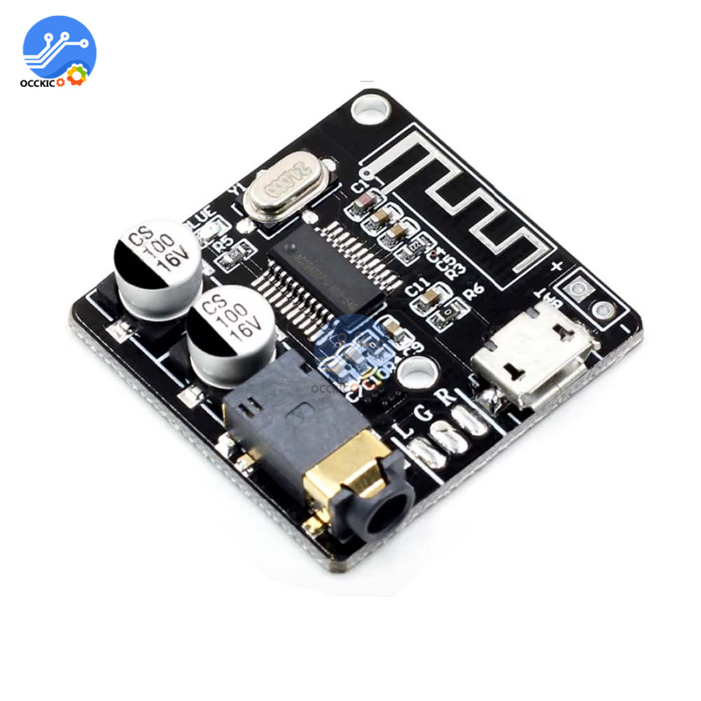 Mini Bluetooth 5.0 MP3 Decoder Board Audio Receiver MP3 Lossless Player Wireless Stereo Music Amplifier Module