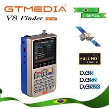 Бразилия v8 finder dvb s2 hd цифровой спутниковый метр acm полный