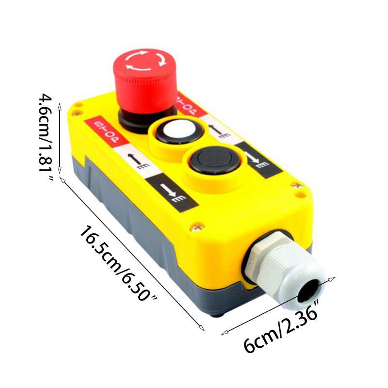 Interruptor industrial, botão interruptor de pressão industrial