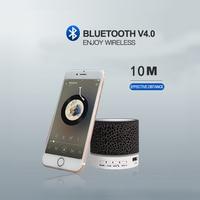 led music 2020 Wireless Bluetooth Speaker Mini LED Music Audio TF USB FM Stereo Sound Portable Speaker For Phone Xiaomi Computer (3)