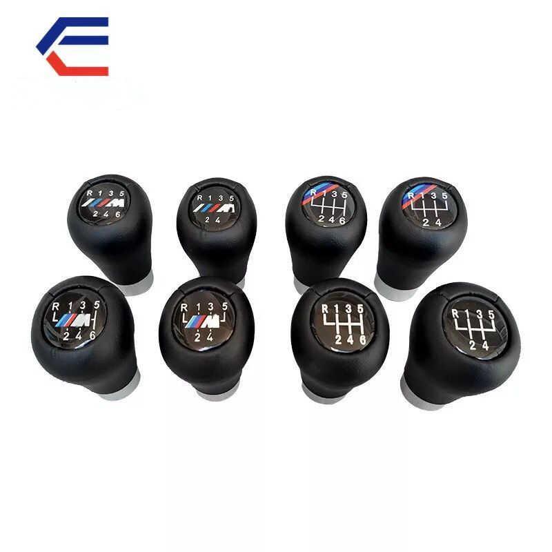 Pomello del cambio per BMW 5 6 velocità E46 E53 E60 E61 E63 E65 E81 E82 E83 E87 E90 E91 e92 3 5 6X1X3X5 In Fibra di Carbonio Opaca Cromato