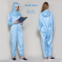 Isolated Protective-Clothing 1-Suit XL Human-Contact-Dust-Proof Anti-Static Reusable