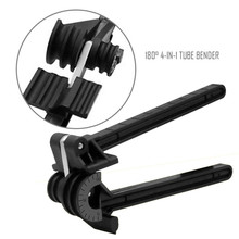 180 Degree  Multi-use Plastic Combined Four Slot Pipe Bender Tube Bender Household Tools Bending Machinery Manual Elbow Tool