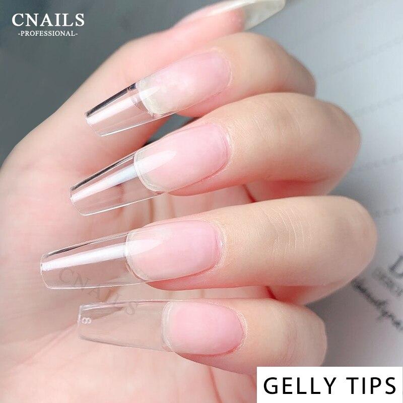 Tips Short Coffin False Nail Stiletto Gel Nails Extension Tips For Nails Sculpted Clear Tips False Gel Nails Fake Tips 240pcs