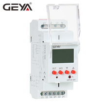 цена на Free Shipping GEYA GRV8-S Over Voltage Under Voltage Protector Device with LCD Digital Display Voltage Relay 8A 70V-650V
