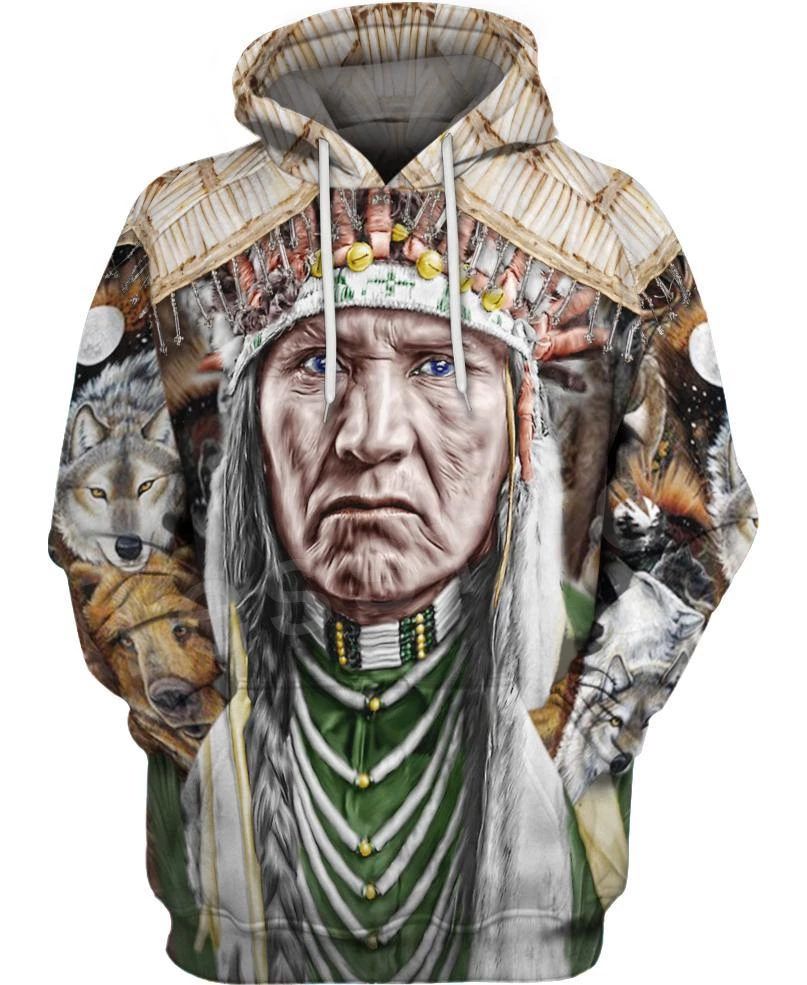 Tessffel Indian Native Harajuku Casual Colorful Tracksuit New Fashion 3Dfull Print Hoodie/Sweatshirt/Jacket/Men Women S27