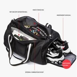 Image 5 - TIANHOO Wet and dry separation sports fitness handbag men portable large capacity travel luggage bag