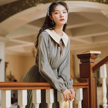 Новая модная женская одежда платье с длинными рукавами зимнее платье