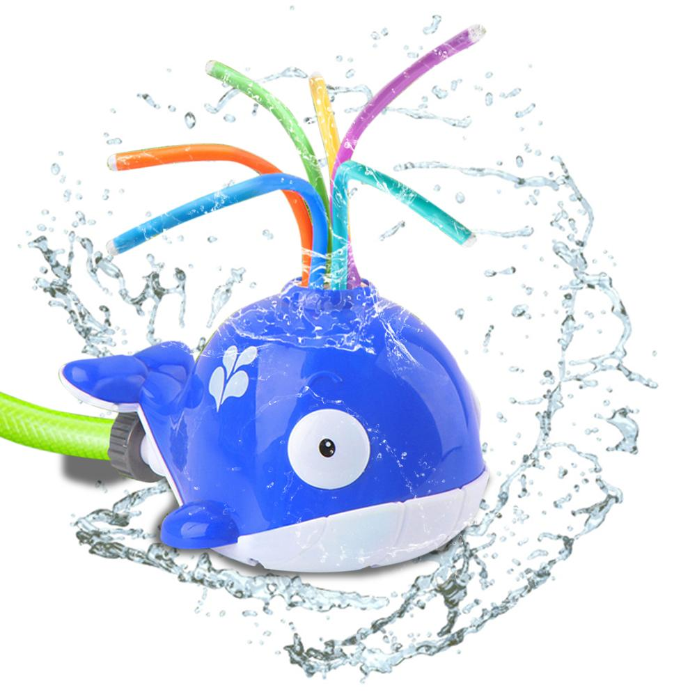 Garden Sprinkler Toys Spray Water Rotate With Shower Kids Toys For Children Toddler Swimming Party Baby Bath Toys