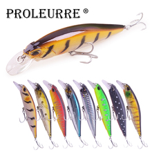 1Pcs 110mm 13.5g Fishing Lures Minnow Jerkbait Pike Trout Wobbler Floating Hard Lure Crankbait Artificial Bait Bass