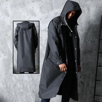 Płaszcz przeciwdeszczowy moda męska i damska płaszcze dla dorosłych plastikowe wędkarstwo górskie przezroczysta peleryna przeciwdeszczowa sprzęt przeciwdeszczowy w prowincji Hubei tanie i dobre opinie Other Black Poncho raincoat L XL XXL XXXL adult Siamese raincoat