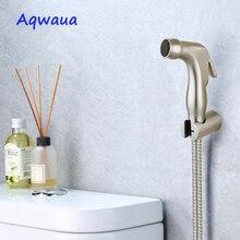 Shower-Head Hand-Sprayer Toilet Bidet Off-Sprayer-Accessories Bathroom Shattaf Brushed