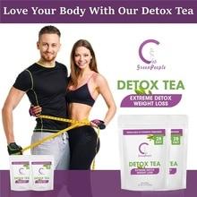 GPGP Green People Pure Natural Detox Tea Fat Burning Women And Men Slimming Prod