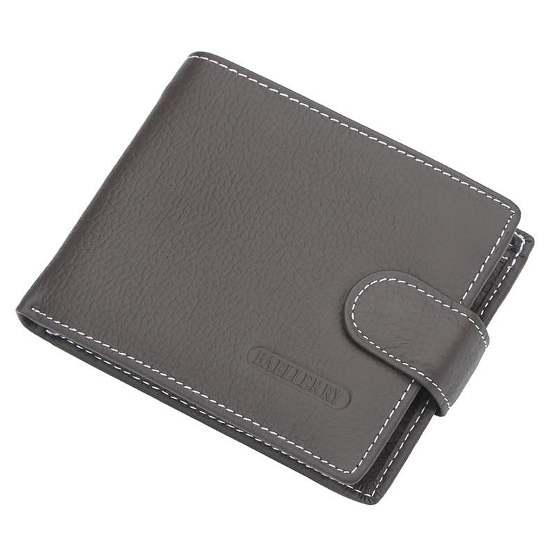 Wallet Men Leather Wallets Male Purse Money Credit Card Holder Genuine Coin Pocket Brand Design Money Billfold Maschio Clutch