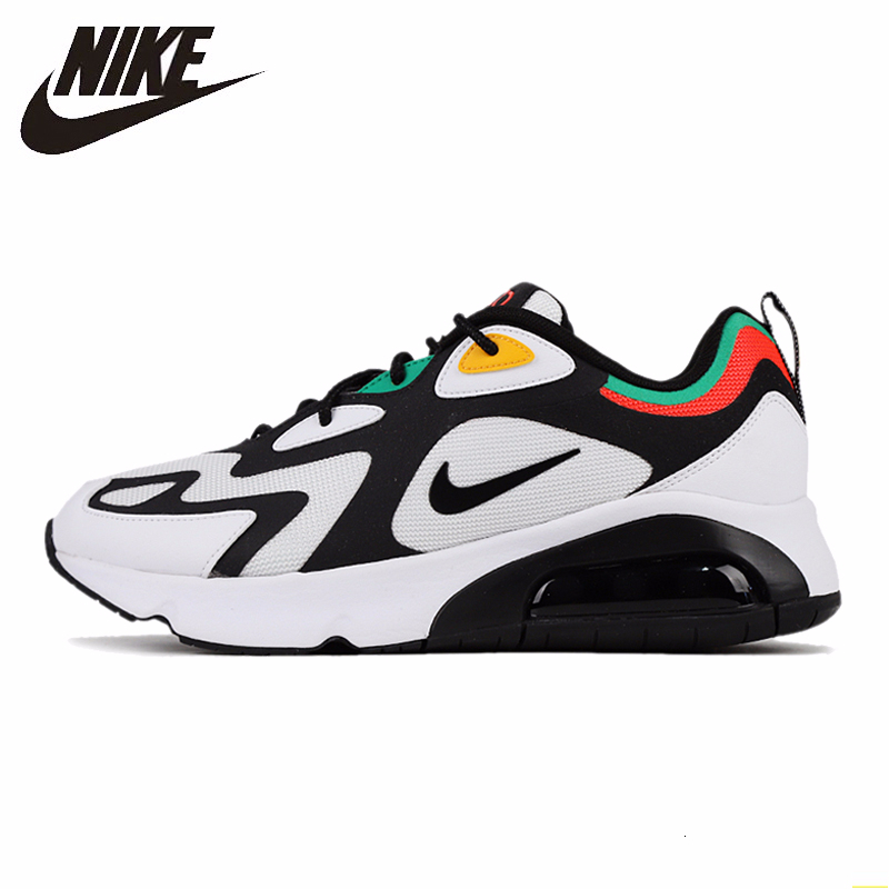 Nike Air Max 200 Men Running Shoes Air Cushion Motion  Outdoor Sports Dad Shoes Comfortable Sneakers Men #AQ2568-101
